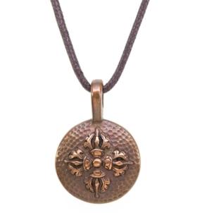 Double Dorje Amulet