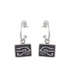 Left Eye of Horus Earrings