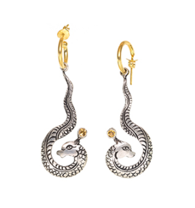 Naga Earrings