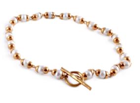 Goddess Bracelet Laxmi Pearl