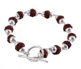 Goddess Bracelet Siva Rudraksha