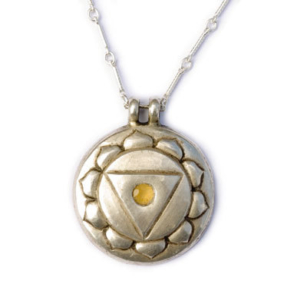 Navel Chakra Amulet with chain