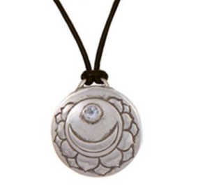 Crown Chakra Amulet with cord