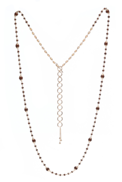 Rudrani Pearl Rudraksha Mixed Necklace