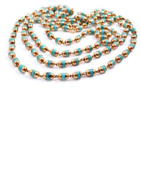 Tara Turquoise Longing Gold