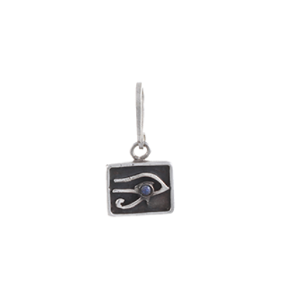 The Left Eye of Horus Charm - Silver