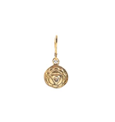 The Navel Chakra Charm Gold
