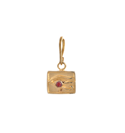 The Right Eye of Horus Charm - Gold