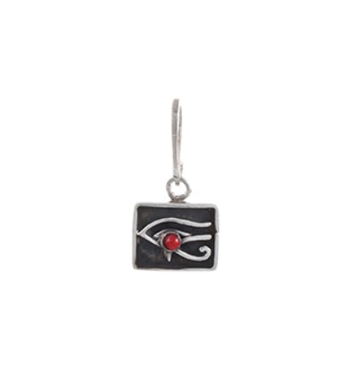 The Right Eye of Horus Charm- Silver