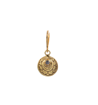 The Crown Chakra Charm Gold