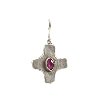 Cross Amulet - Silver