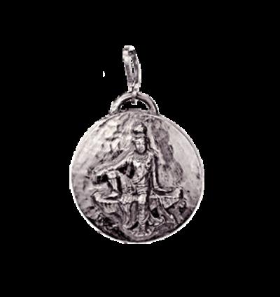 Kwan Yin Amulet - Silver