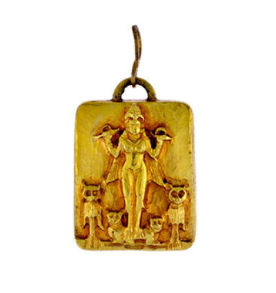 Lilith Amulet - Gold