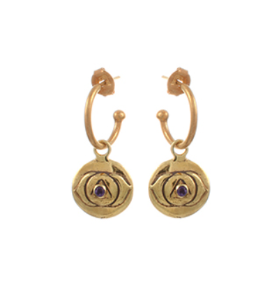 The Ajana Earrings - Gold