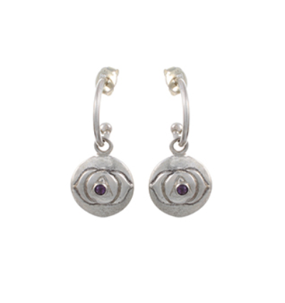 The Ajana Earrings - Silver