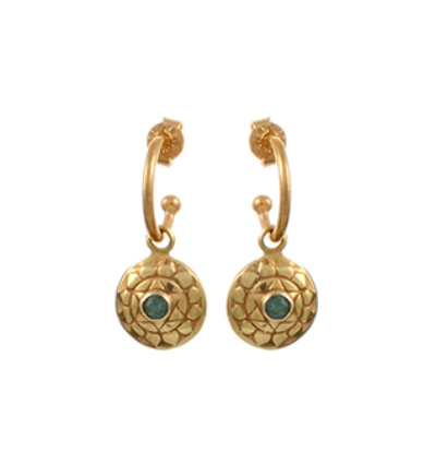 The Anahatha Earrings - Gold