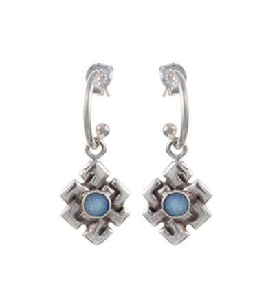 Endless Knot Earrings - Silver