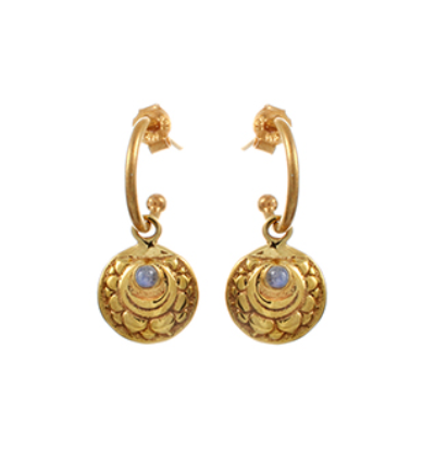 The Sahashara Earrings - Gold