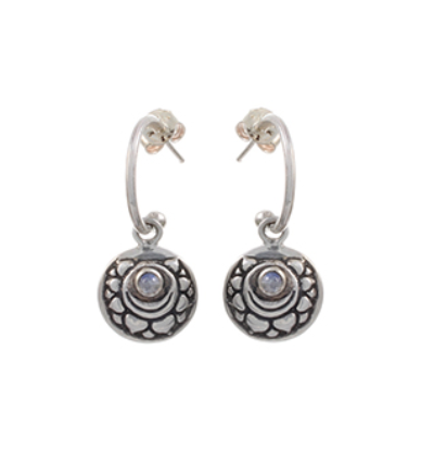 The Sahashara Earrings - Silver