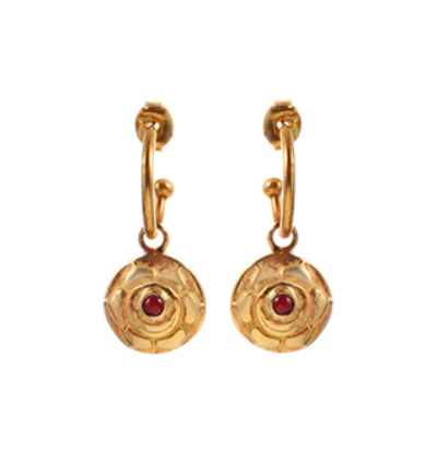 The Swadisthana Earrings - Gold