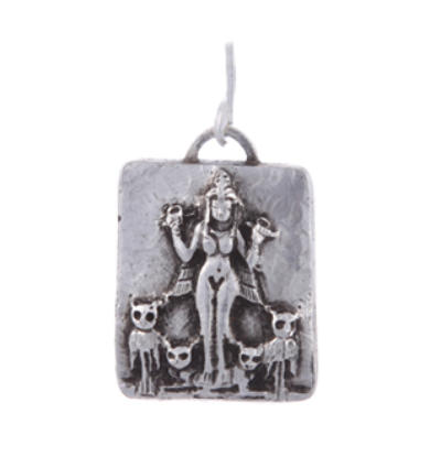 Lilith Amulet - Silver
