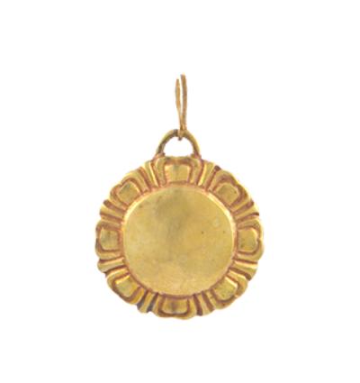 Lotus Amulet - Gold