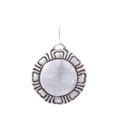 Lotus Amulet - Silver