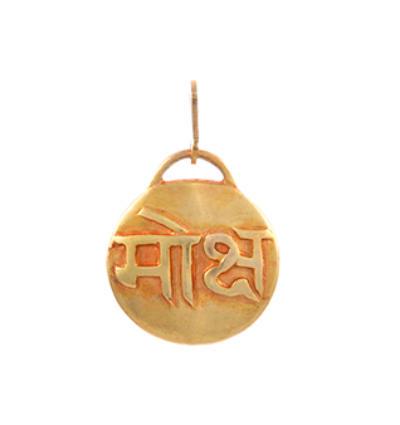 Mantra - Moksha Amulet - Gold