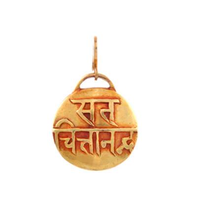 Mantra - Sat Chit Ananda Amulet - Gold