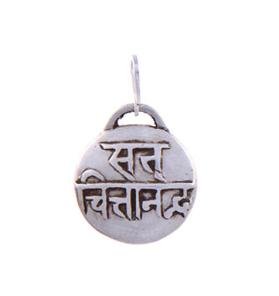 Mantra - Sat Chit Ananda Amulet - Silver