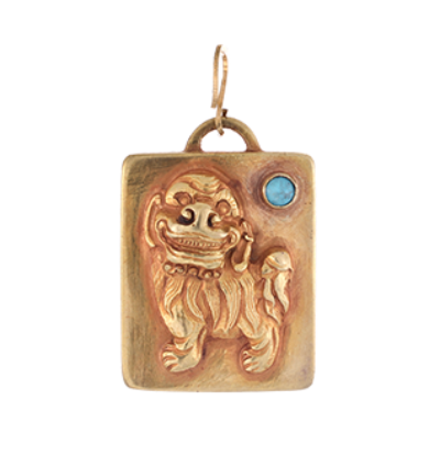 The Snow Lion - Gold