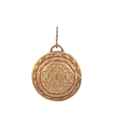 Sri Yantra Amulet - Gold