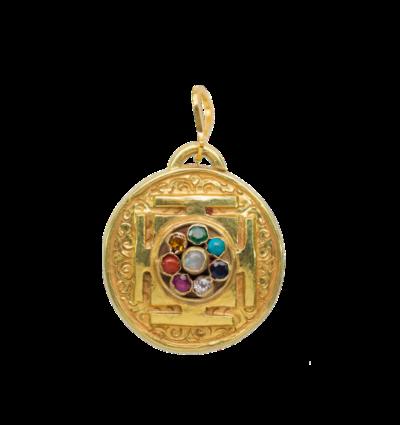 Chakra Mandala - Gold