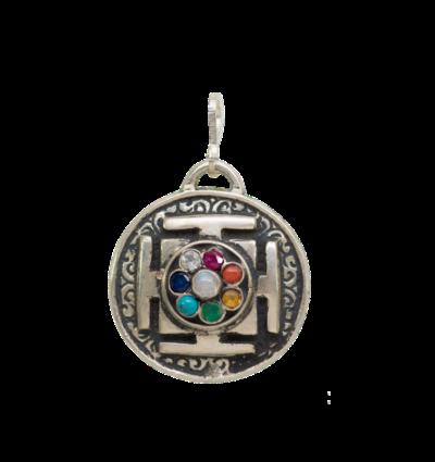 Chakra Mandala - Silver