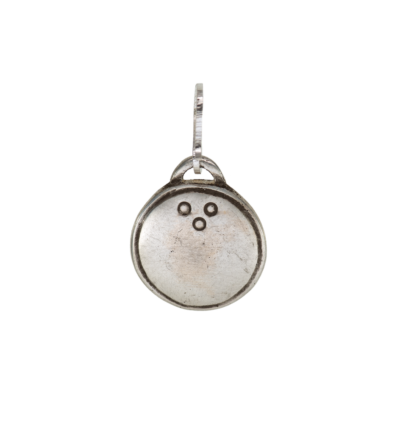Tibetan Mirror Small - Silver