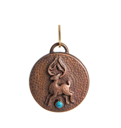Deer Amulet - Copper