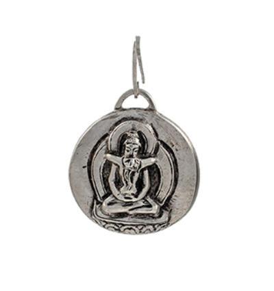 Yab-Yum Amulet - Silver