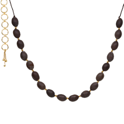 Lotus Seed Necklace - Gold