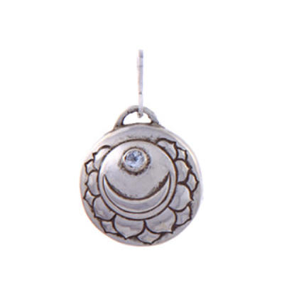 Crown Chakra Amulet - Silver