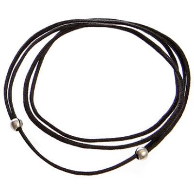 ZAdjustable Cords - Silver