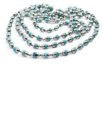Tara Turquoise Longing- Silver