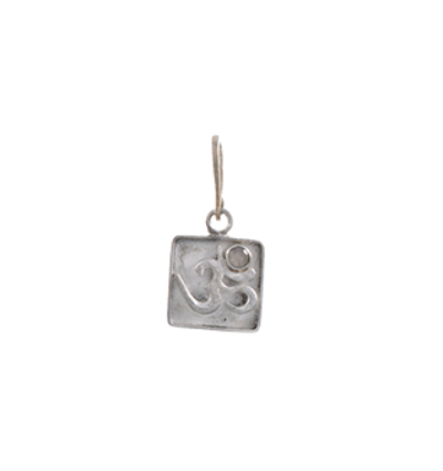 OM Charm - Silver