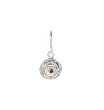 The Root Chakra Charm Silver