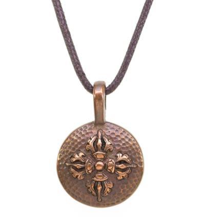 Double Dorje Amulet - Pancha dhatu