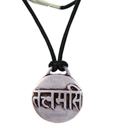 Tat Tvam Asi Amulet - Silver
