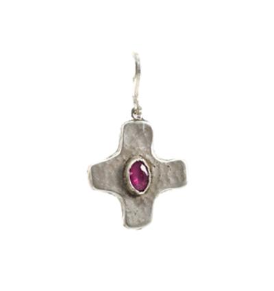 Cross Amulet - Silver