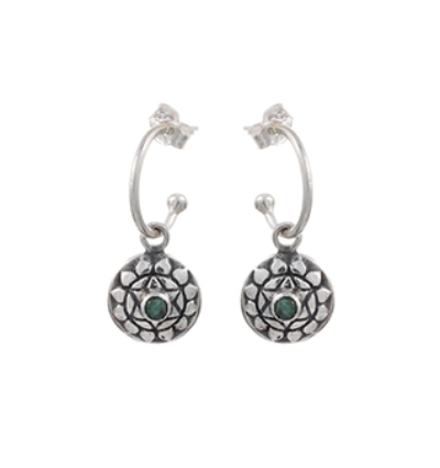 The Anahatha Earrings - Silver