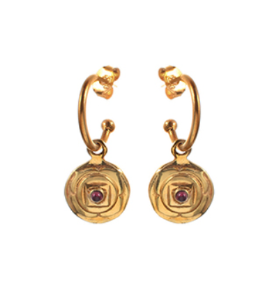 The Muladhara Earrings - Gold
