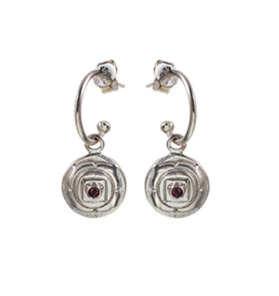 The Muladhara Earrings - Silver