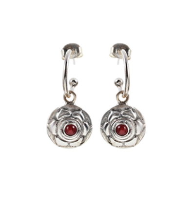 The Swadisthana Earrings - Silver